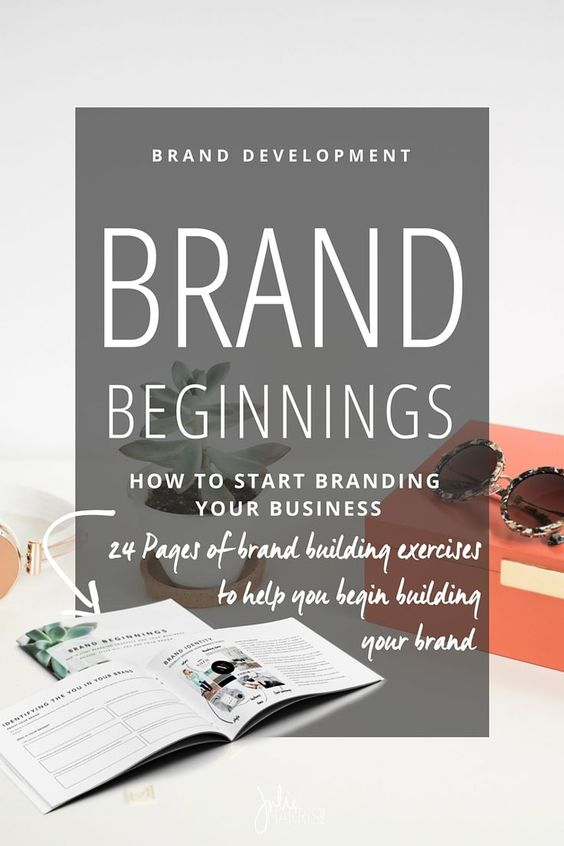 Brand Beginnings: How to start branding yourself and your business. Because, after-all, you are your brand.    Julie Harris Design