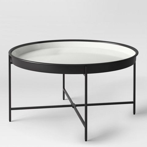 Project 62 Pradet Tray Coffee Table Black White Coffee Table Metal Coffee Table Black Coffee Tables