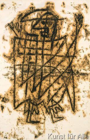 Paul Klee - Figurine Der Tod