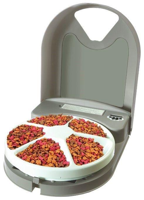 Alimentador automático para pet com 5 divisões
