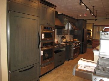 Display for martin 39 s appliance eclectic kitchen - Kitchen cabinets philadelphia ...