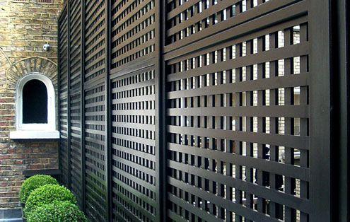 Black Garden Trellis Lattice Garden Wooden Garden Gate Backyard Garden Design