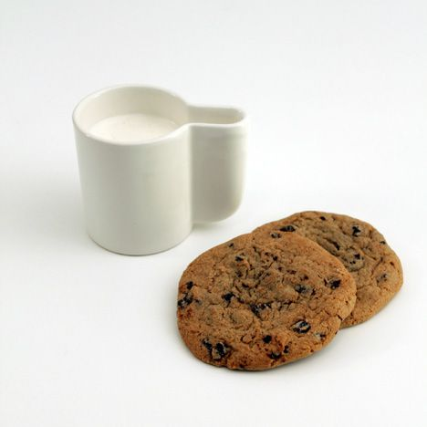 cookie dipping cup! love this idea.