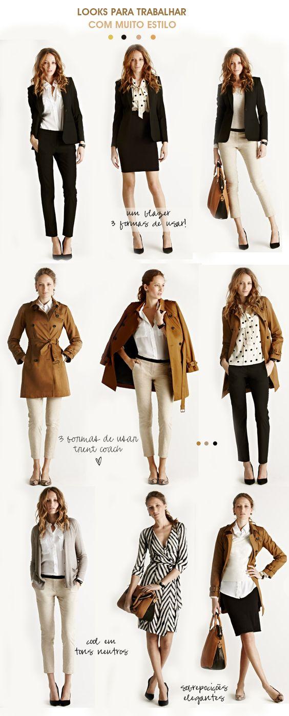 Looks para trabalhar cheios de estilo: