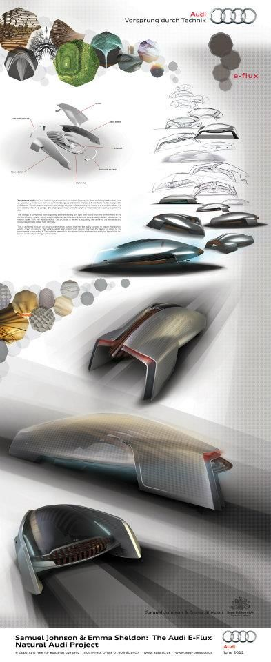 Samuel Johnson & Emma Sheldon: The Audi E-Flux