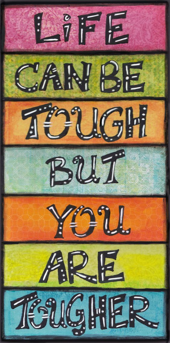 you are tougher inspiring and empowering fine art