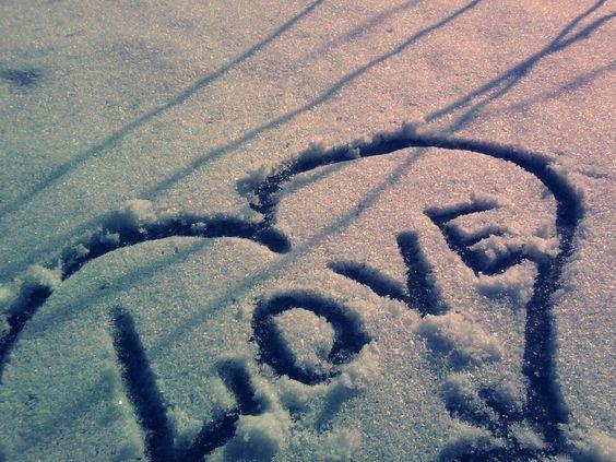 Amor na neve HD