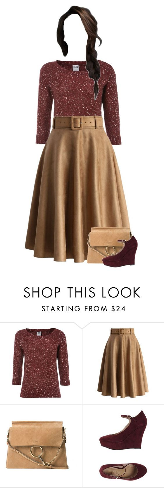 """""""Sunday Night Service (Autumn Edition)"""" by kateremington-1 ❤ liked on Polyvore featuring Vero Moda, Chicwish, Chloé and Bibi Lou"""