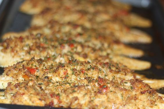 Crab Stuffed Flounder. This looks and sounds wonderful! I want some now!