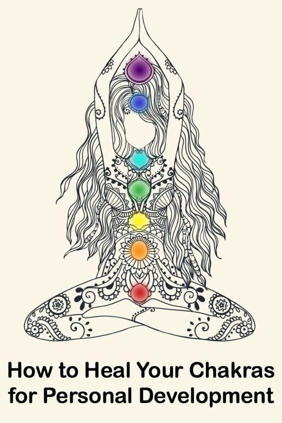 Cómo curar sus chakras para el Desarrollo Personal ~ http://personalitybuzz.com/heal-chakras-personal-development/: