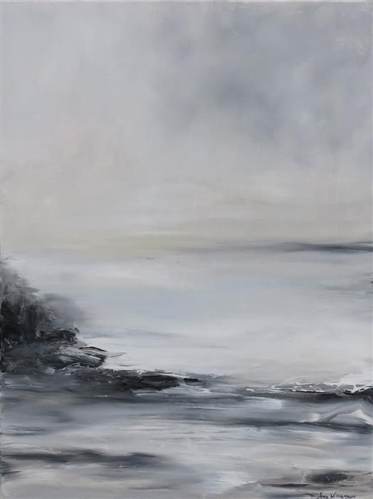 Buy Original Art by Jenn Williamson | acrylic painting | Seascape III at UGallery