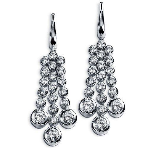 DeJoria Bormio Diamond Earrings