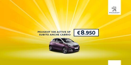 Da Contauto a San Nicola La Strada e Teverola, trovi Peugeot 108 a prezzo incredibile, affrettati perché l'offerta è limitata. Comoda,…