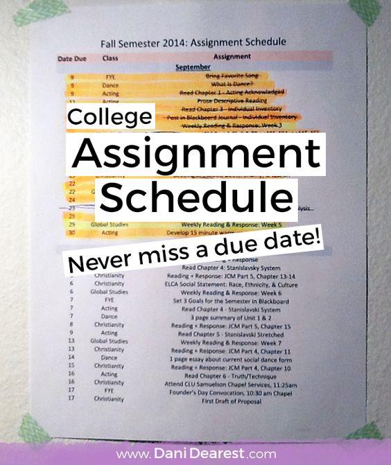 College semester dates in Brisbane