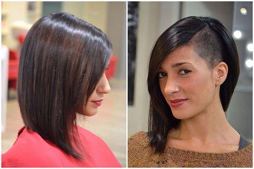 Cortes de pelo corto medias melenas y colores tendencias - Corte de melenas ...