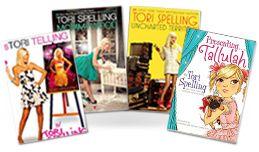 All of Tori Spelling's books!