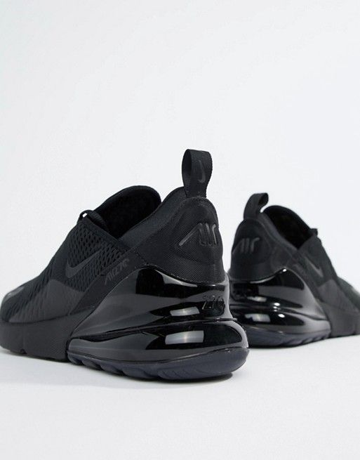 all black 270 trainers
