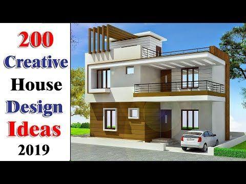 200 House Designs 2019 New House Designs 2019 Creative House Designs 2019 Youtube Modern House Plans Duplex House Design Duplex Design