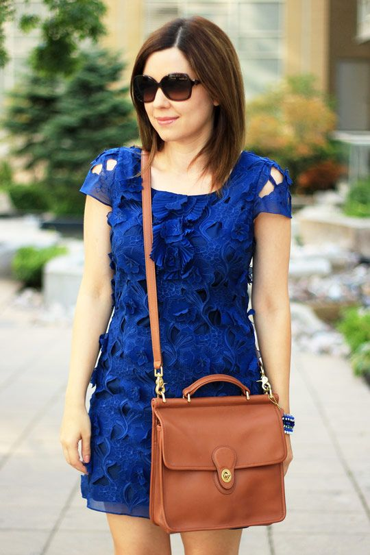 BCBG Dress with Floral Applique: Floral Applies, My Style Pinboard, Crazy Style, Fashion Spring Summer