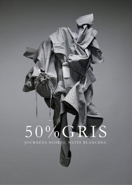 HIXSEPT - 50% GRIS  Art direction: Aurelien Arbet and Jeremie Egry  Photography: Vincent Rougeau
