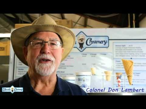 The Colonel's Creamery Story
