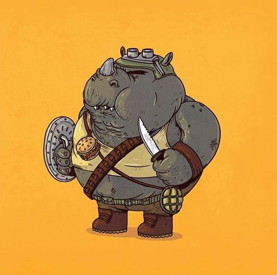 Round 2: If Pop Culture Characters Were Overweight (39 Pics) | Pleated-Jeans.com