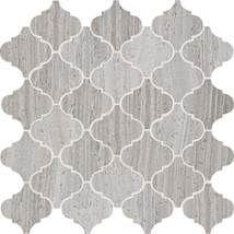 Chenille White3 X 3 Baroque Mosaic Polished L191