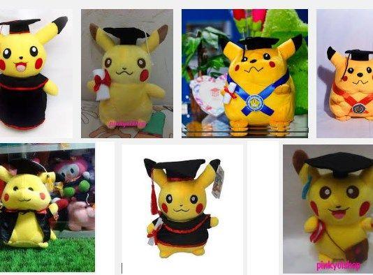 Boneka Wisuda Pokemon, Peluang Usaha di Saat Musim Kelulusan