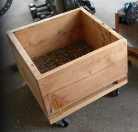 Raised planter box plans.
