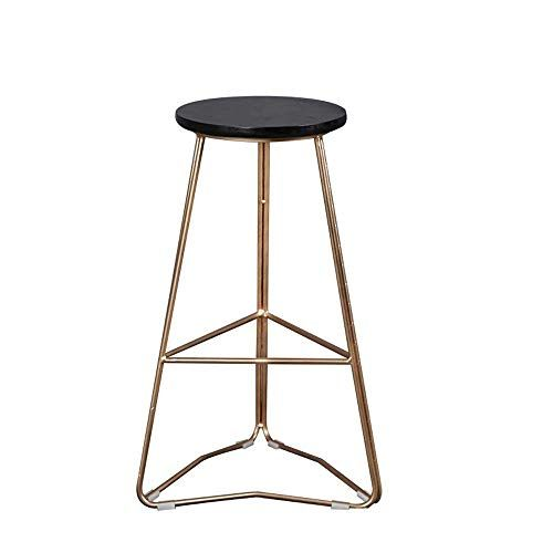 Bar Stool Nordic Solid Wood Bar Chair Home Kitchen Living Room High Stool Bar Chair Height 75cm Bar Stools Wood Bar Stools Wood High Chairs
