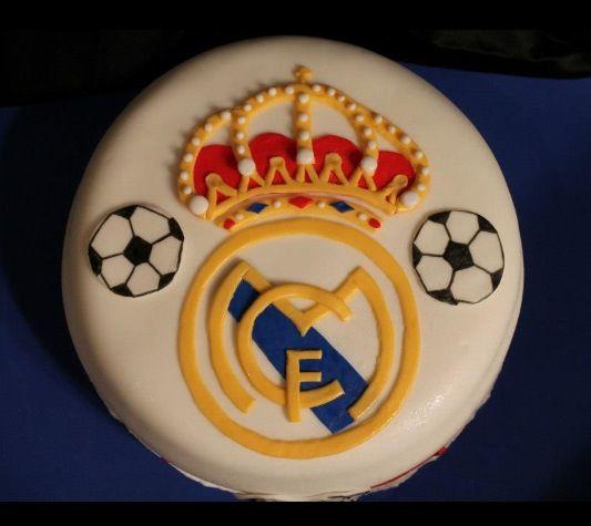 Birthday Cake Real Madrid My Creation Birthday Cake - Real birthday cake images