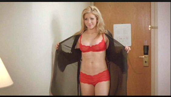 Brittany snow red lingerie was error