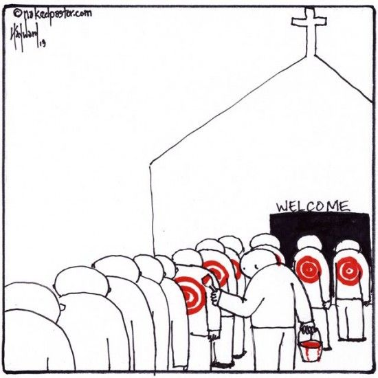 "It's not what you think. I think this is better! My cartoon ""welcome to target Christians"": http://www.patheos.com/blogs/nakedpastor/2013/04/welcome-to-target-christians/"