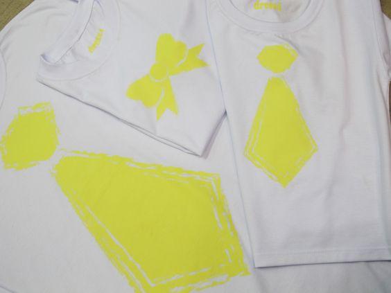 Presente de dia dos Pais. Gravata para Pai e filho e laço para a filha!  www.dress4.com.br
