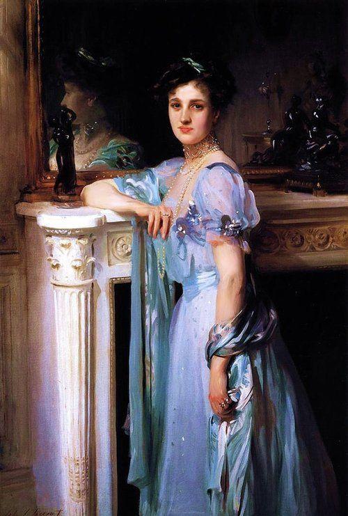John Singer Sargent (1856-1925) - Mrs. Louis E. Raphael