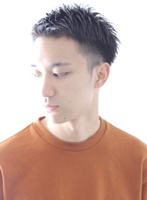 大人ツーブロック メンズショート(髪型メンズ)