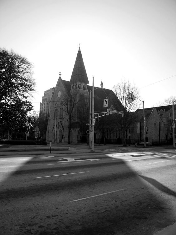Central Presbyterian Church, across from the Capitol
