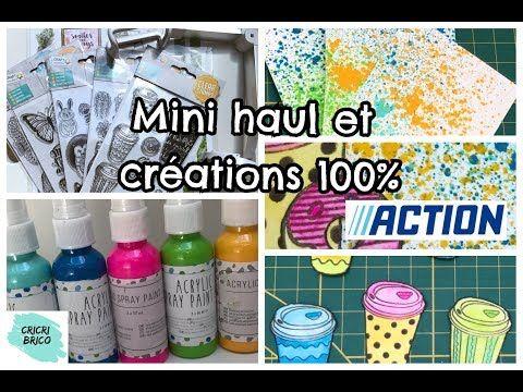 100 Action Mini Haul Et Tuto Creations Scrapbooking 8 Cafe Et