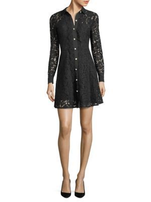 The Kooples - Moonlight Lace Shirtdress