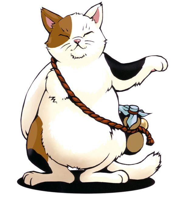 猫キャラクターマオ