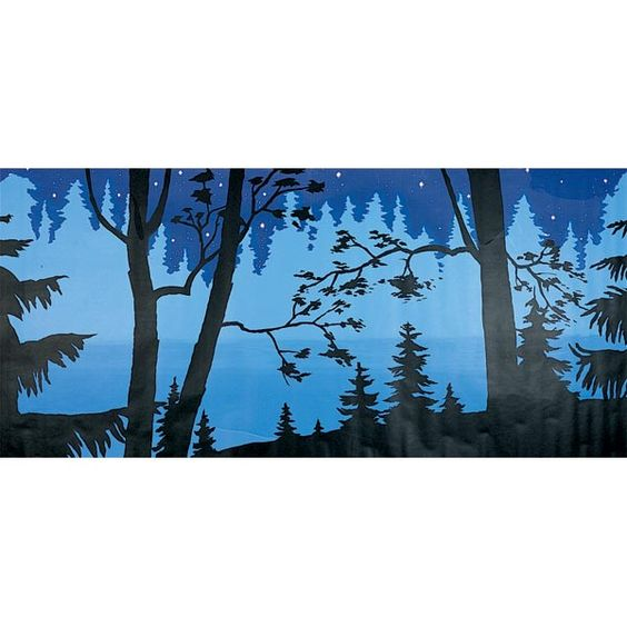 Enchanted forest mural prom nite fairy tale forest for Enchanted forest mural