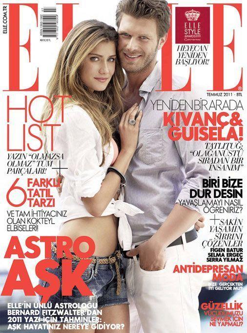 Elle Magazine [Turkey] (July 2011) - Lana