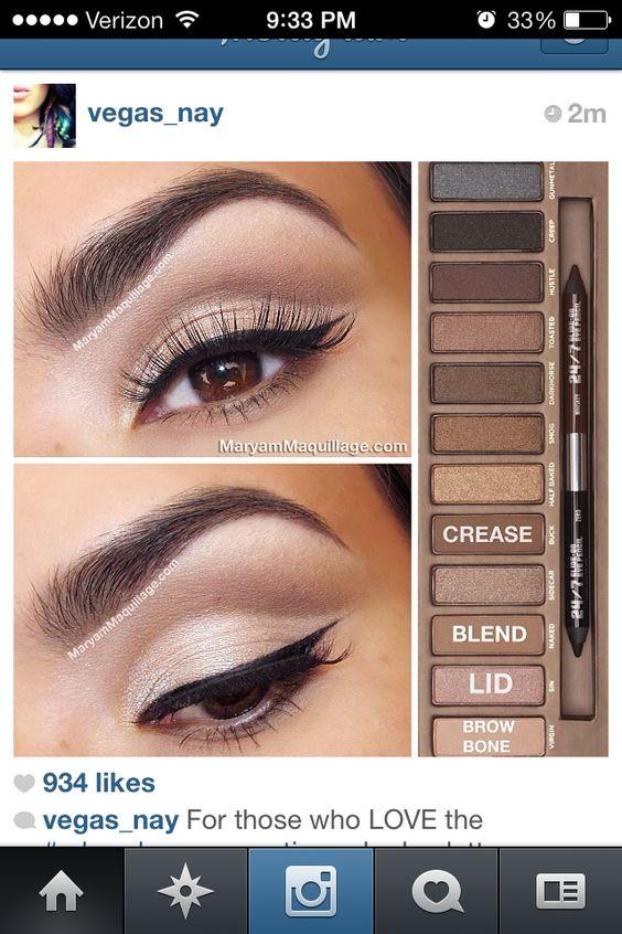 Natural makeup :)