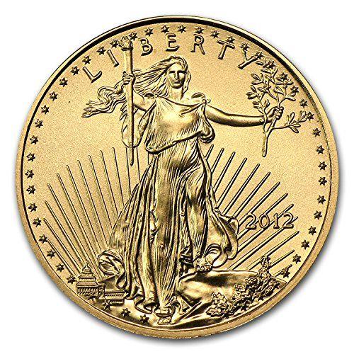 2012 1 10 Oz Gold American Eagle Bu Gold Brilliant Uncirculated Coin Highlights Contains 1 10 Oz Actual Gold Weight Mu Gold American Eagle Gold Eagle Coins Gold Coins