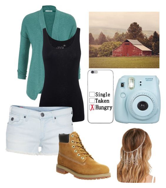 """""""Out and about"""" by mariah1713 ❤ liked on Polyvore featuring maurices, Juvia, True Religion, Timberland and Forever 21"""