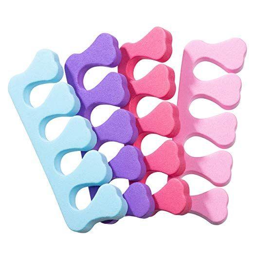 Amazon Com Toe Separators 100 Pack Toe Spacers Pedicure Accessories Disposable Foam Toe Separators For Na Pedicure Accessories Pedicure Pedicure Nail Art