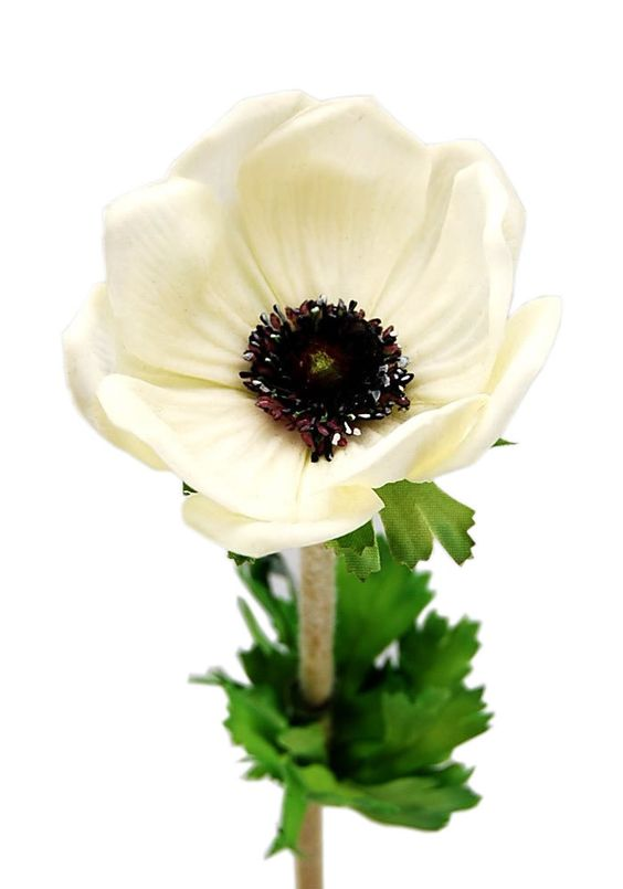 Amazing selection of real touch silk poppy anemone (Floramatique). These artificial poppies are very beautiful with bright color options: Purple, White and Yellow.
