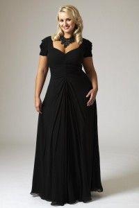 Vestidos de promoción o de fiesta para mujeres con sobrepeso , Gorditas