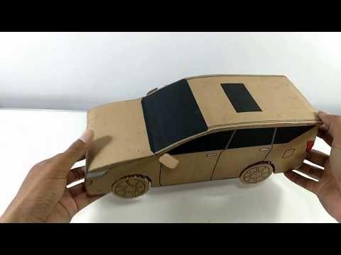 Cara Membuat Mobil Mainan Dari Kardus Innova Reborn Ide Daur
