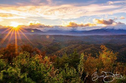 Smoky Mountains in Eastern Tennessee